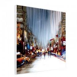 Tableau contemporain urbain 60x60