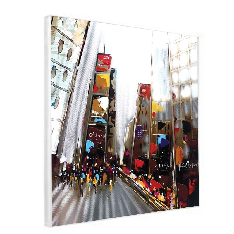 Tableau contemporain NEW YORK 60x60