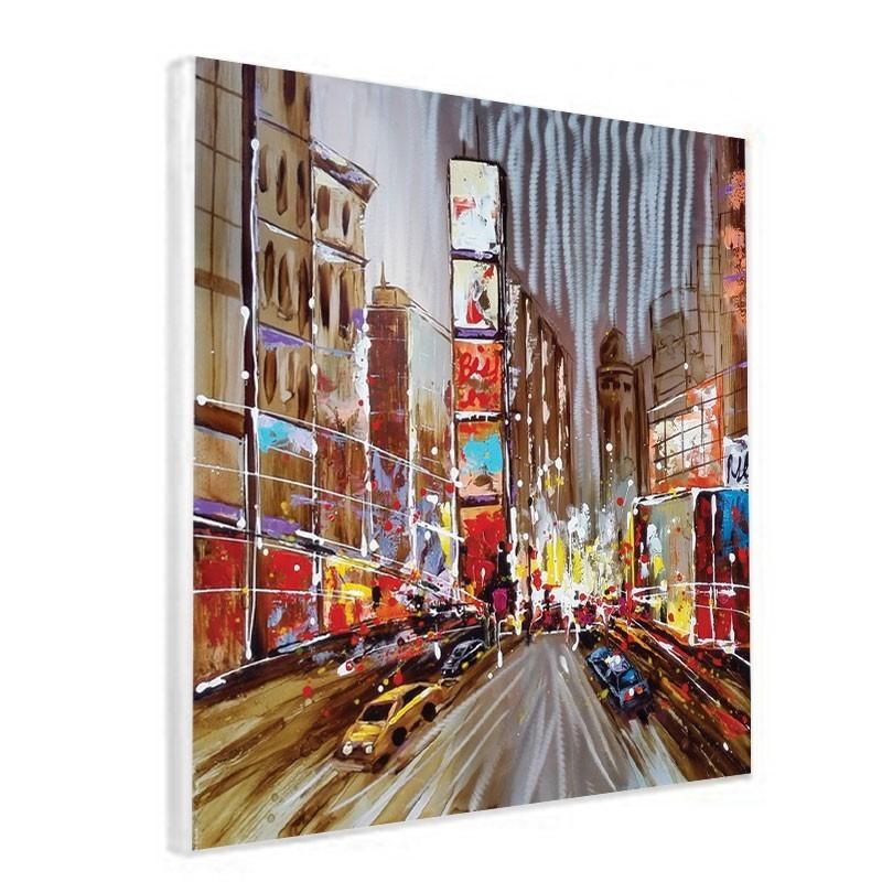 Tableau contemporain urbain 80x80