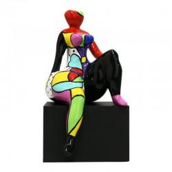 """Sculpture femme ronde Déesse DIVA """" Ma douce"""""""