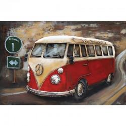 """""""Combi/van rouge"""", tableau..."""
