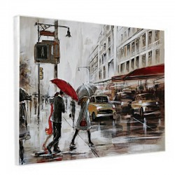 Tableau contemporain urbain new york