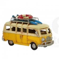 """"""" Van jaune surf"""", Véhicule..."""