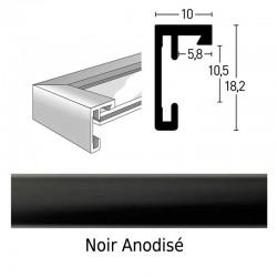 cadre carr 70x70 nielsen alu standard mod le c2 d co cadre. Black Bedroom Furniture Sets. Home Design Ideas