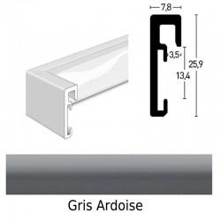 cadre nielsen 70x100 en alu standard mod le alpha d co cadre. Black Bedroom Furniture Sets. Home Design Ideas