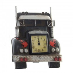 """Horloge Vintage """" Truck"""" noir"""