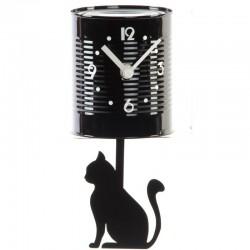 """Horloge murale """" Boite de conserve CHAT """""""