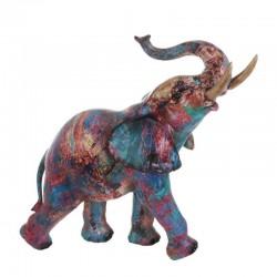 Statuette à poser éléphant GM technicolor