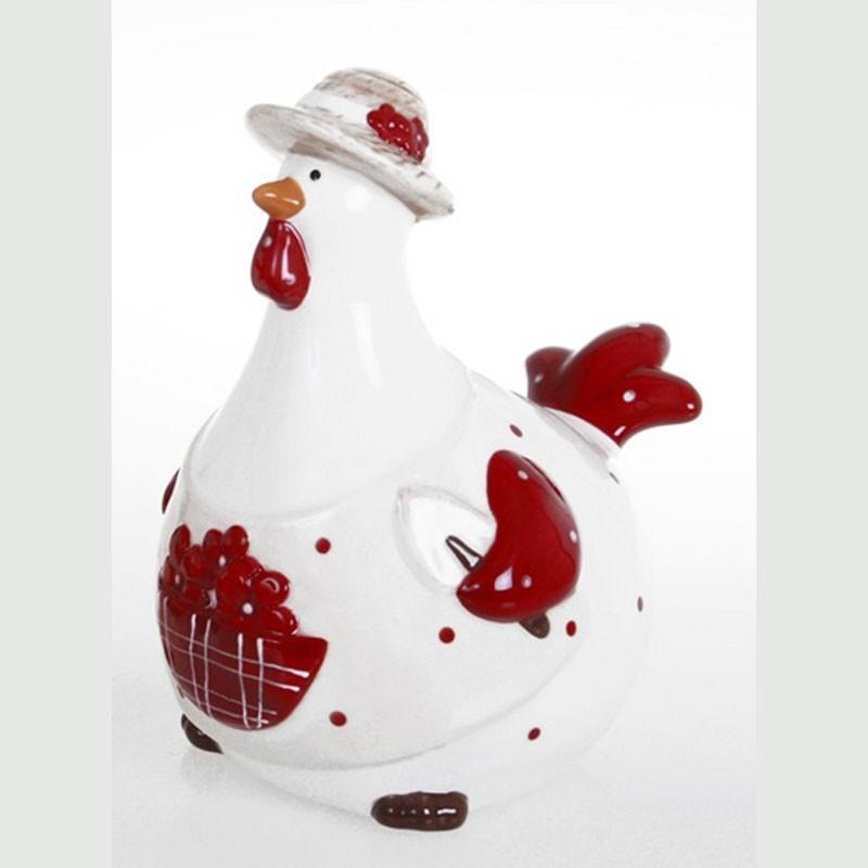 Deco poule rouge elegant bote dco rouge design poule - Poule decorative pour cuisine ...