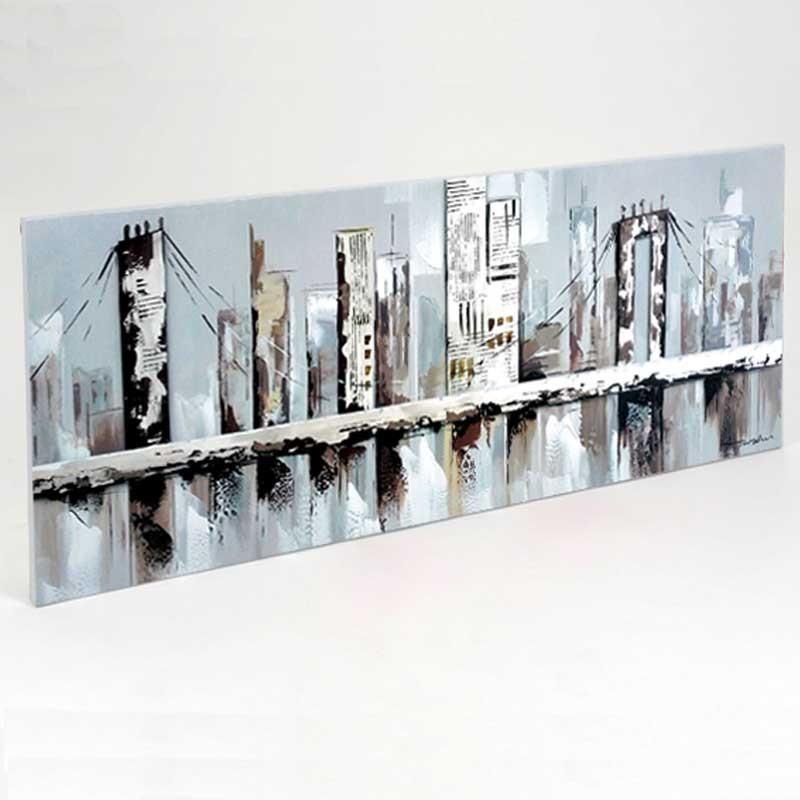 Tableau contemporaine Urbain, New York 40x120