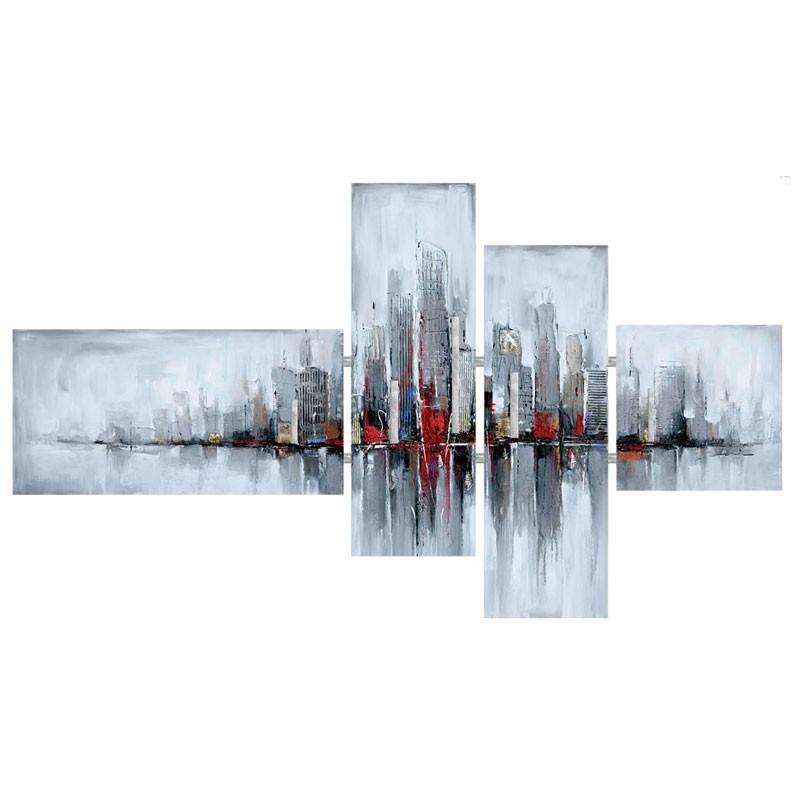 """tableaux triptyques design """" new york """", triptyque contemporain xxl"""