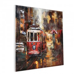 """Tramway rouge "", Tableau..."
