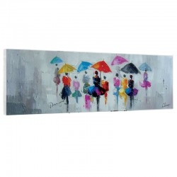 """ Ballet de parapluies "",..."