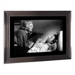Image encadrée N&B, Deneuve-Gainsbourg, 50x70