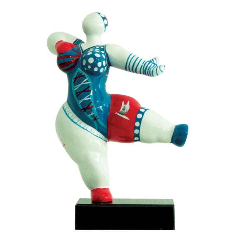 Statuette design FEMME RONDE baigneuse