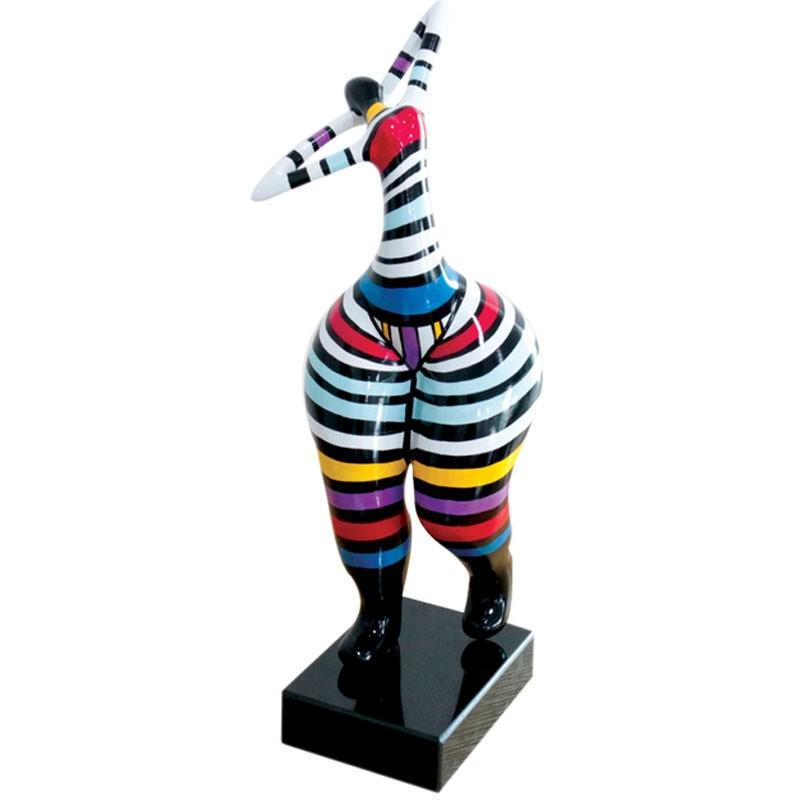 Statuette FEMME RONDE DEBOUT