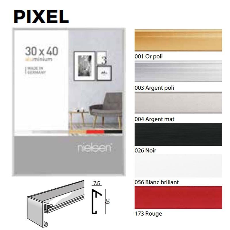 Nielsen Cadre Photo Format 13x18 cm Rectangulaire Aluminium Portrait Cadre Photo Cadre