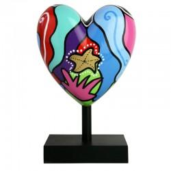 "Sculpture de Déesse, MISSIVE HEART "" Marina """