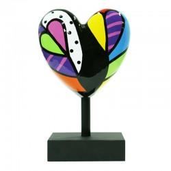 """""""Frivolité"""", sculpture MISSIVE HEART par déesse"""