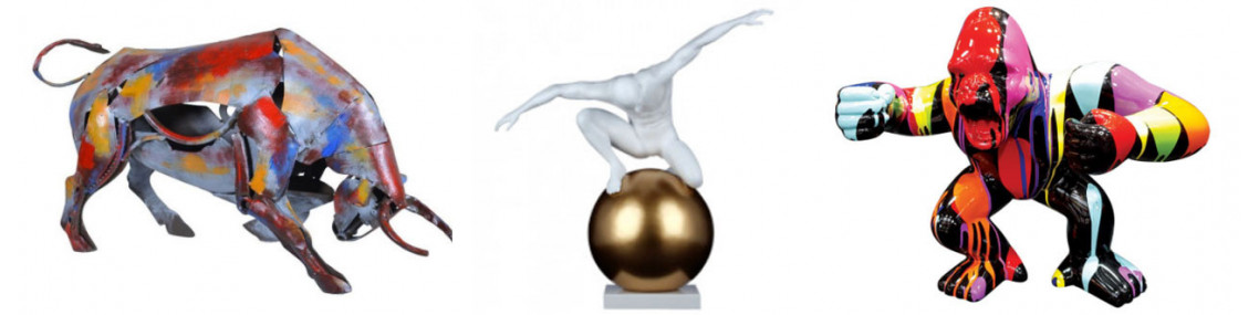 Sculpture contemporaine-statuette design-femme ronde