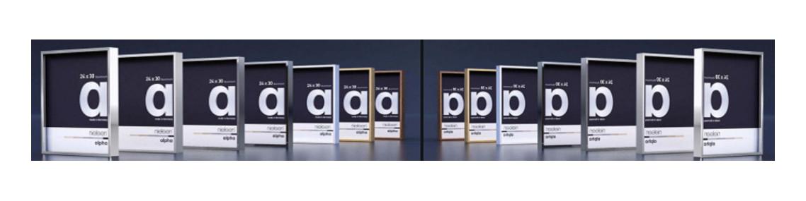 Cadres photos nielsen standard bois et aluminium par collection